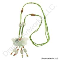 Carved Jade Necklace of Rejuvenation
