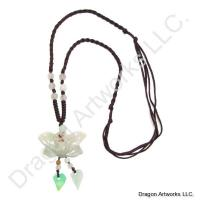 Chinese Carved Jade Necklace of Softness